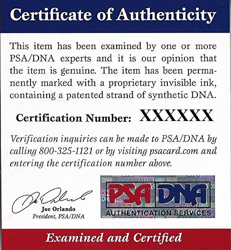 John Nucatola Autographed Signed HOF Postcard - PSA/DNA Certified Image a