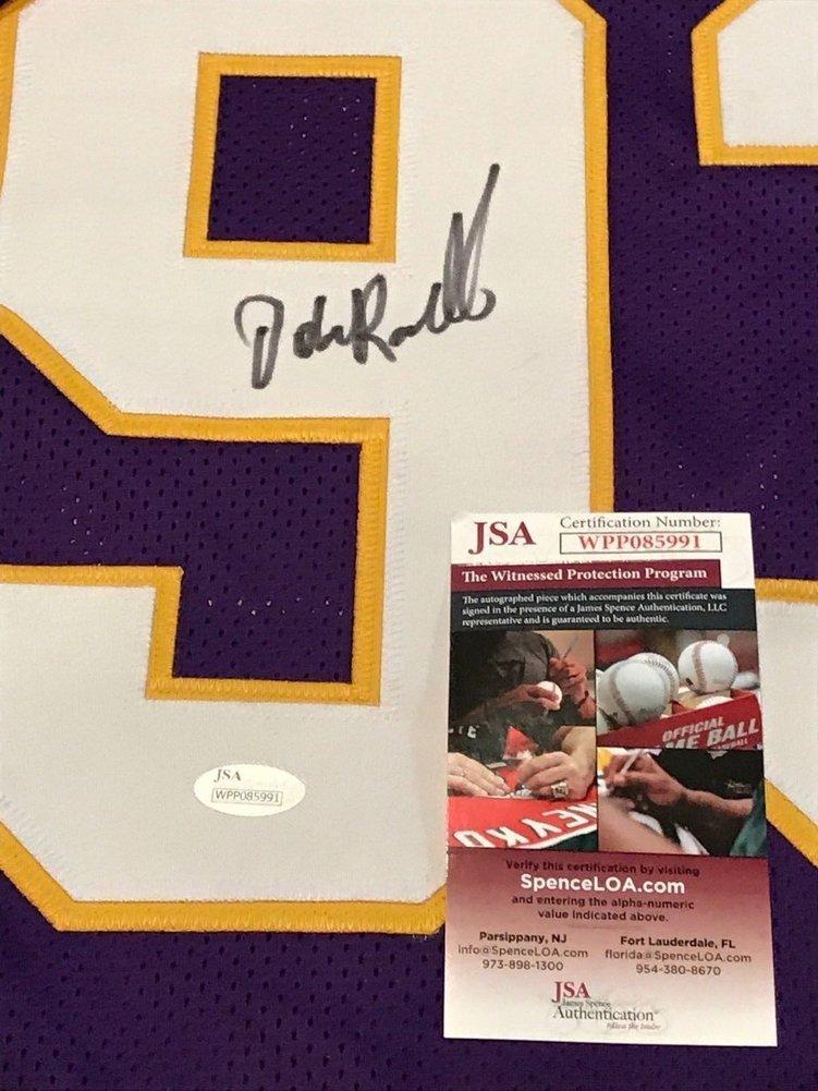 low priced d3d95 49c5e John Randle Autographed Signed Minnesota Vikings Jersey ...