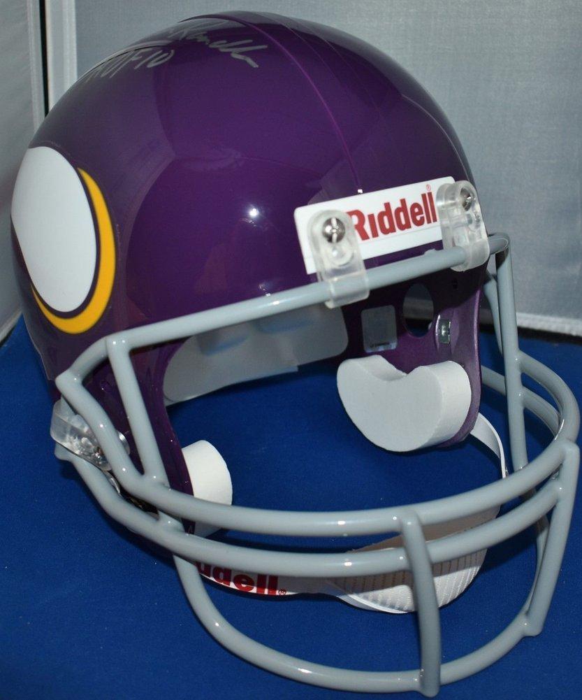 2829caad John Randle Autographed Signed Tb Full Size Replica Helmet Minnesota ...
