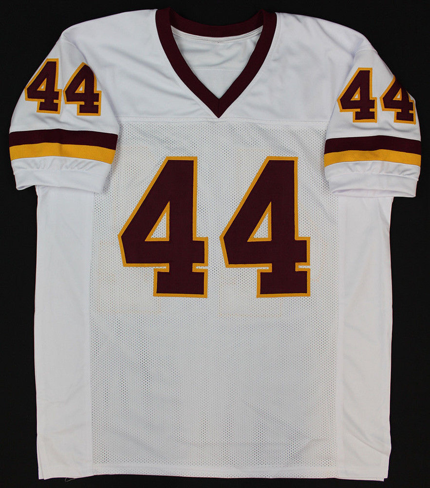 watch aebc7 a6019 John Riggins Autographed Signed Washington Redskins White ...