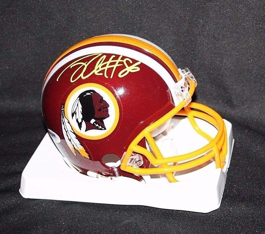 Jordan Reed Autographed Signed Washington Redskins Mini Helmet ... e3ada4a05