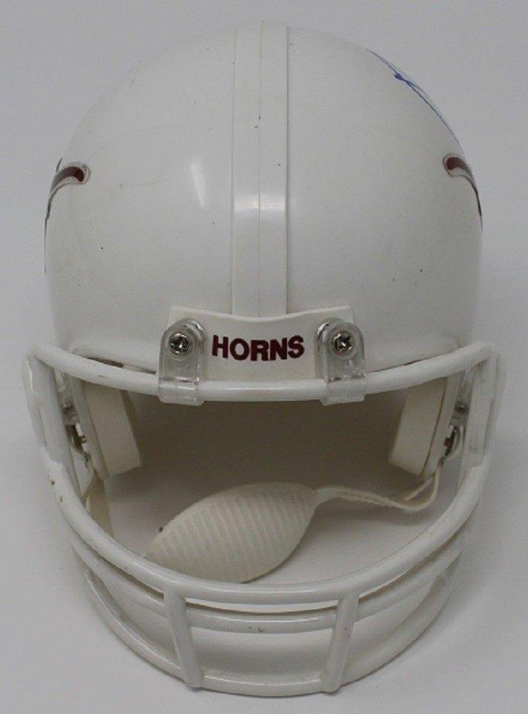 Jordan Spieth Autographed Signed Mini Longhorns Helmet Autographed Pga Golf JSA Image a