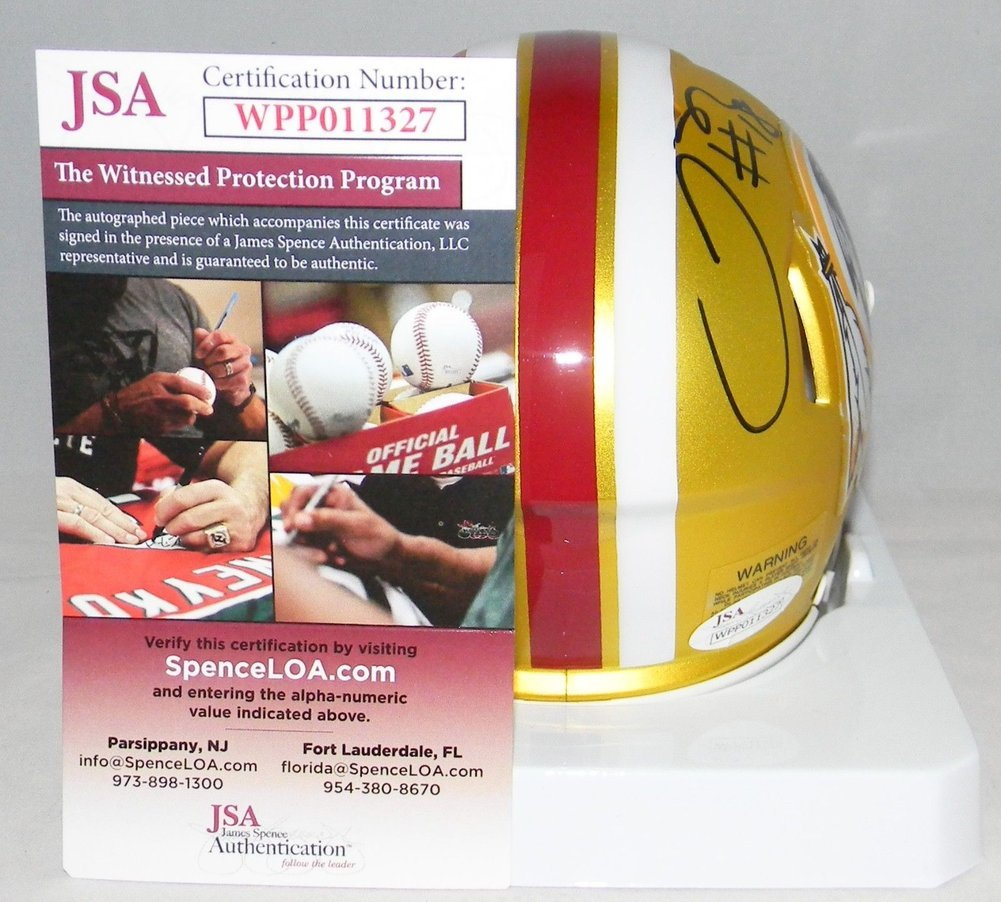 448ff4be9c8 Josh Doctson Autographed Signed Washington Redskins Blaze Speed Mini Helmet  JSA. Loading Images...  319.99 Price
