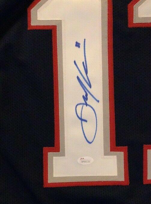... Autographed Signed Xl Custom Jersey Blue Memorabilia JSA Witness.  Loading Images...  350.99 Price 8f19b094d