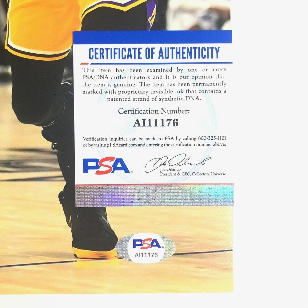 Kawhi Leonard Autographed Signed 11X14 Photo PSA/DNA Los Angeles Clippers Autographed Image a