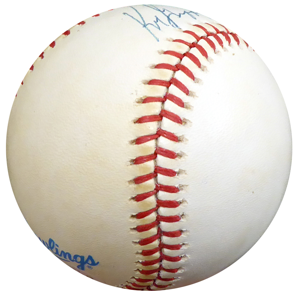 b3ecc36acd1 Ken Griffey Jr. Autographed Signed Auto Official AL Baseball Seattle  Mariners Vintage Rookie Era Signature - Beckett Certified. Loading  Images...  421.99 ...