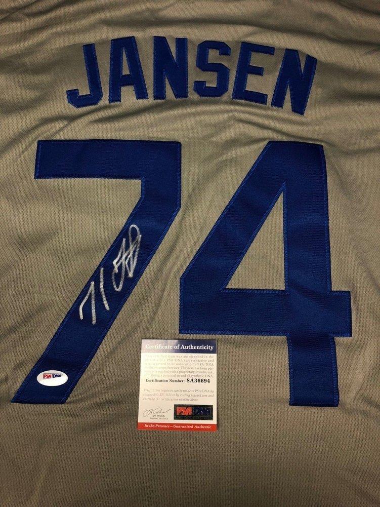 Kenley Jansen Autographed Signed Memorabilia Los Angeles