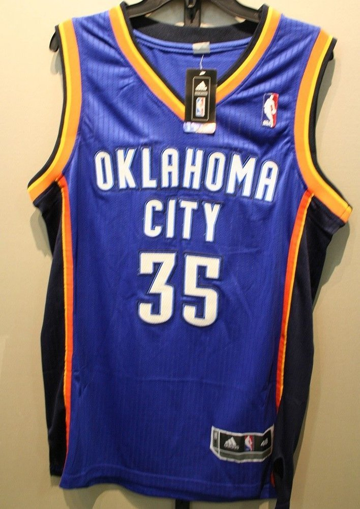 ae29c30c7 Kevin Durant Kd Okc Thunder Autographed Signed Adidas Nba Jersey Beckett  Authentic Memorabilia. Loading Images...  741.99 Original