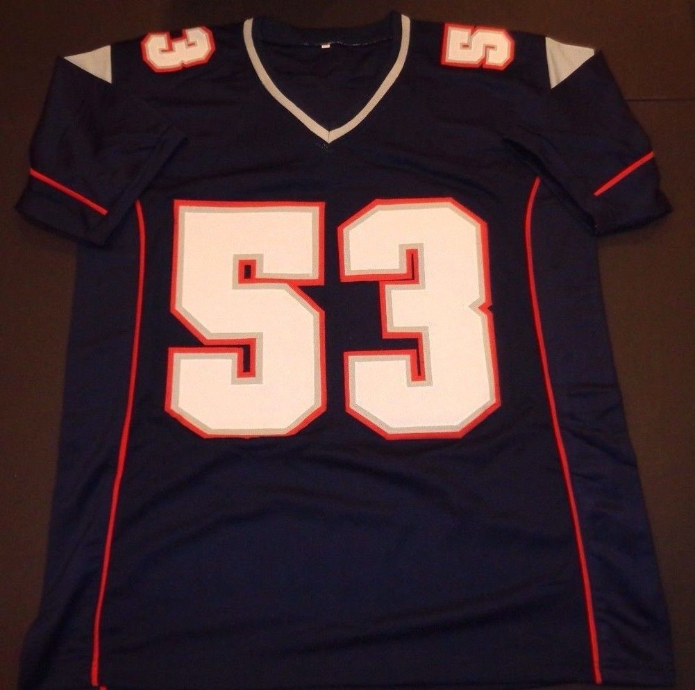 55ef123e3 Kyle Van Noy New England Patriots Autographed Signed Blue Jersey XL W -Coa  - JSA Authentic Memorabilia. Loading Images...  170.99 Price