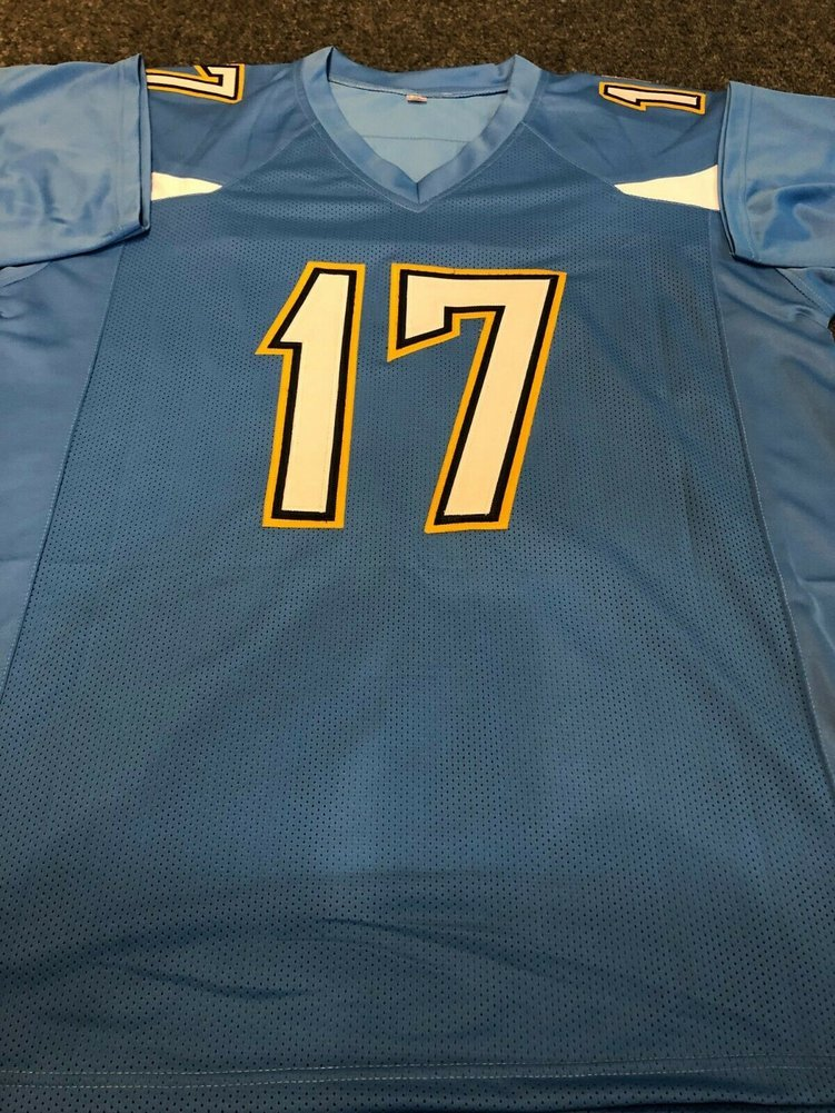 best website dff92 5b08d La Chargers Philip Rivers Autographed Signed Jersey Beckett ...