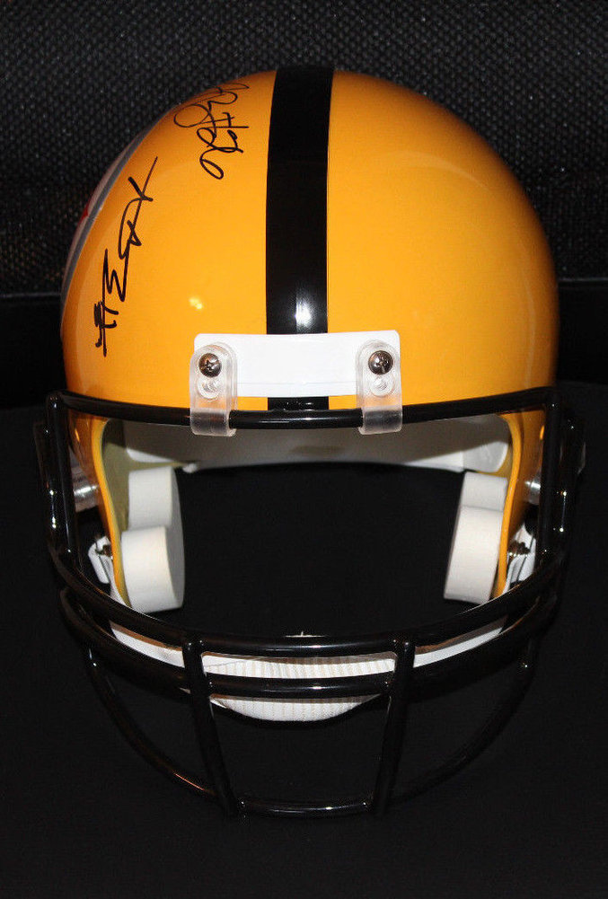 ff2e12ec2 Le'Veon Bell Antonio Brown Pittsburgh Steelers Autographed Signed Fs Helmet  Coa Signature - Beckett Authentic. Loading Images... $1102.99 Price