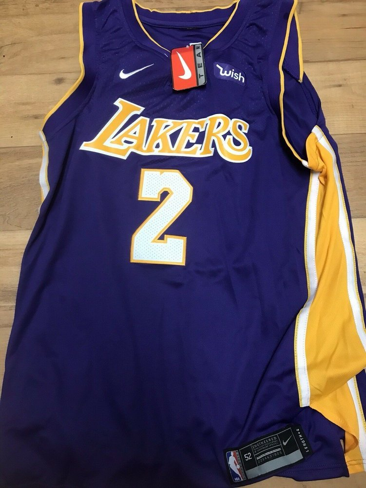 b74b3db9e3dc Lonzo Ball Autographed Signed Los Angeles Lakers Jersey Beckett Authentic  Bas. Loading Images...  928.99 Original