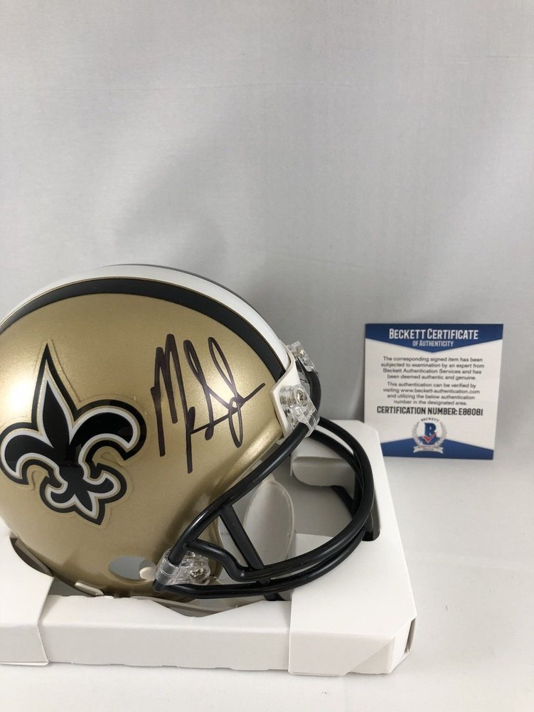 ed77055e0 Mark Ingram Autographed Signed New Orleans Saints Mini Helmet Signature -  Beckett Authentic. Loading Images...  256.99 Price