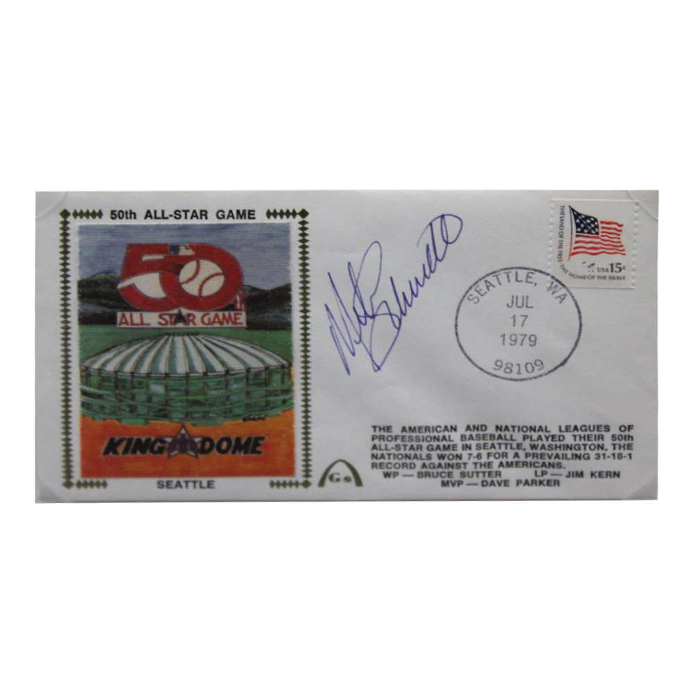 Mike Schmidt Autographed Signed Framed First Day Cover - Certified Authentic Image a