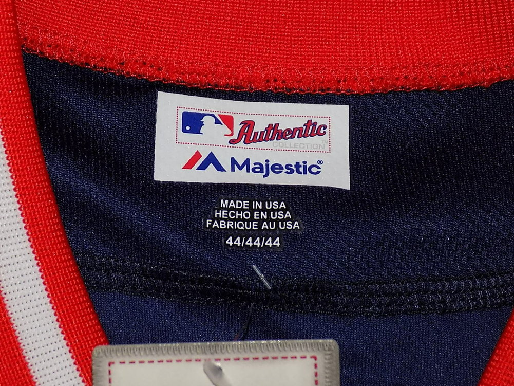 Mookie Betts Autographed Signed Majestic Player's Weekend Baseball Jersey Boston Red Sox JSA Image a