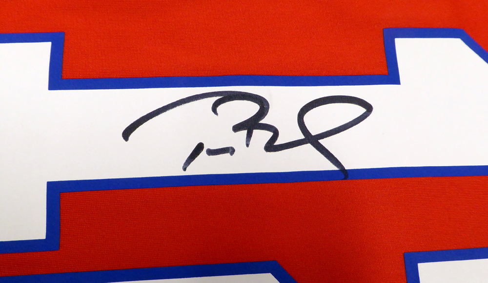... New England Patriots Tom Brady Autographed Signed Red Nike Jersey Size L  TriStar Holo Stock ... 6fd9fbac6