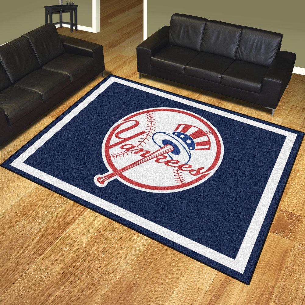 New York Yankees 8 X 10 Home Decor Rug