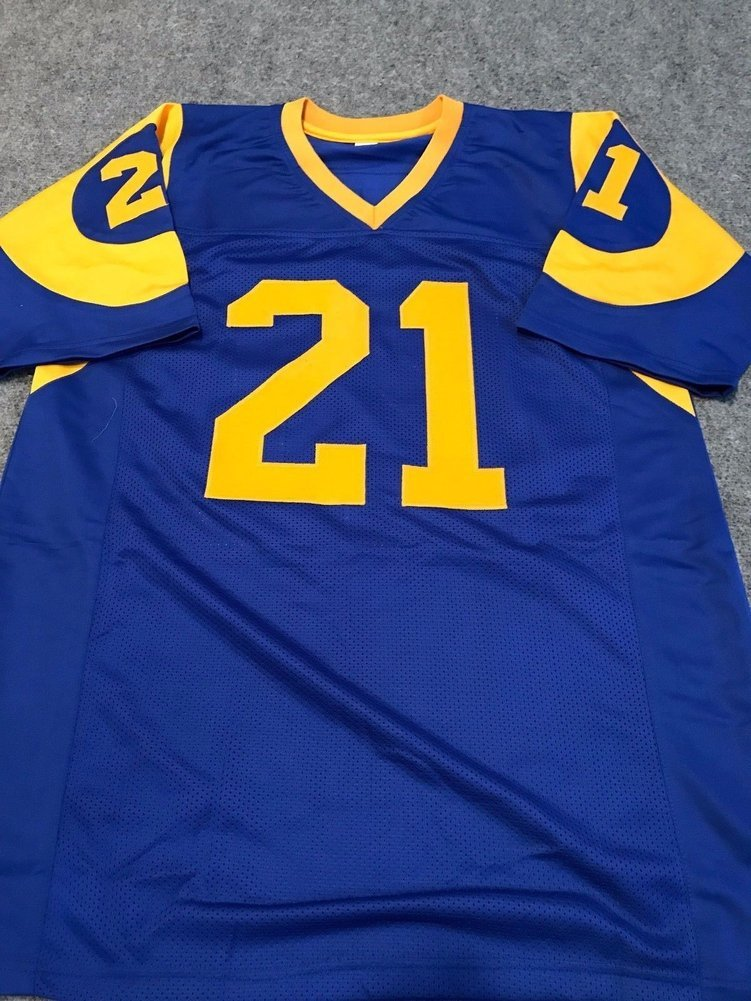 Nolan Cromwell Autographed Signed L.A. Rams Jersey - JSA Authentic 8da9acd30