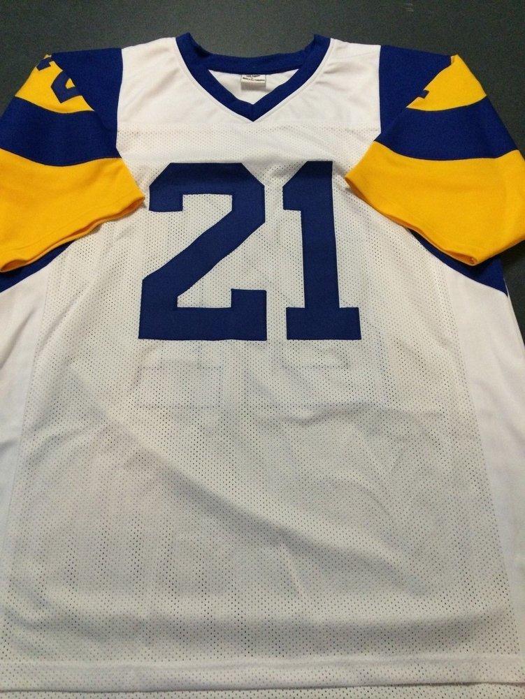 meet c1571 4b3fd Nolan Cromwell Autographed Signed La Rams Jersey - JSA ...