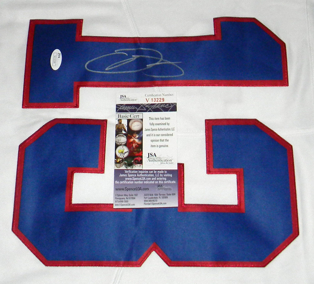 reputable site 9206d 68de8 Odel Beckham Jr Autographed Signed New York Giants #13 Color ...
