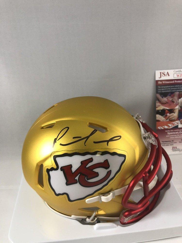 57546ce44 Patrick Mahomes Autographed Signed Kansas City Chiefs Blaze Mini Helmet - JSA  Authentic Memorabilia 3. Loading Images...  661.99 Price