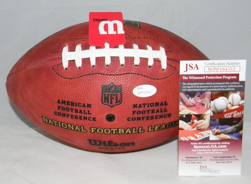 Patrick Mahomes Autographed Signed Kansas City Chiefs Official Wilson Nfl  Duke Football JSA. Loading Images...  648.99 Price dff1e9dfb