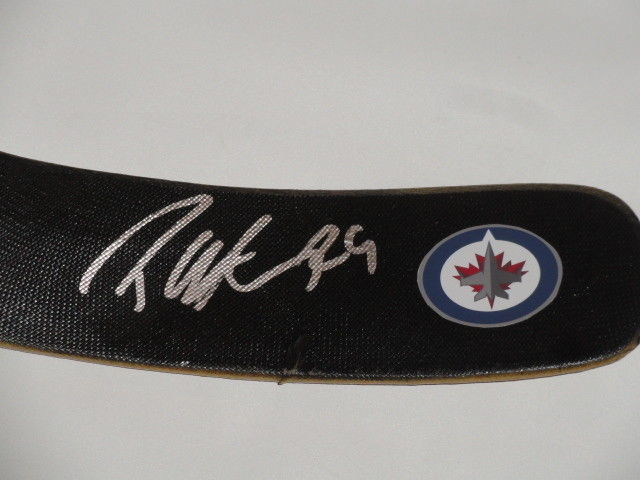 Patrik Laine Autographed Ccm Hockey Stick Winnipeg Jets Autographed