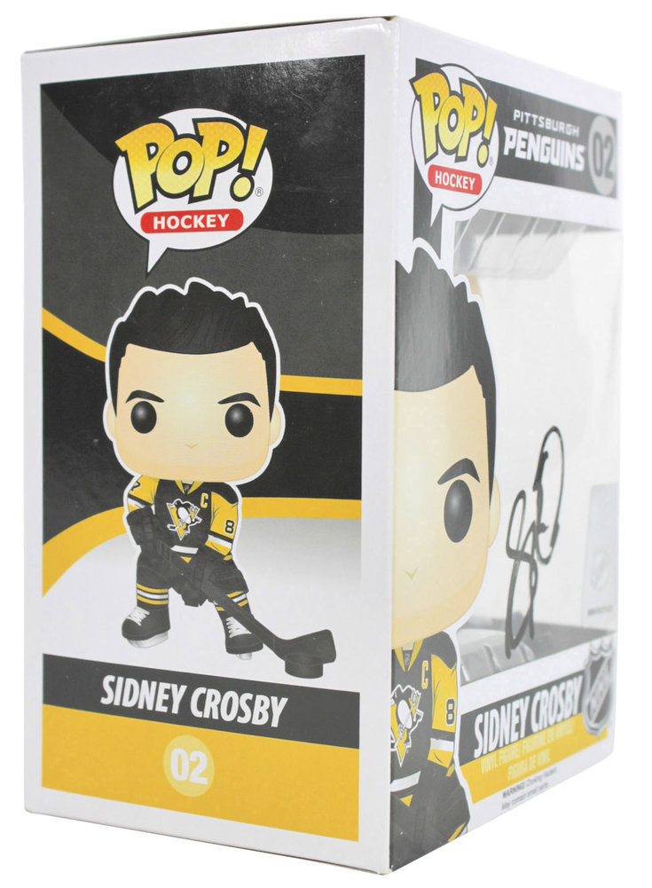 89d50a1a957 Penguins Sidney Crosby Authentic Autographed Signed Funko Pop Vinyl ...