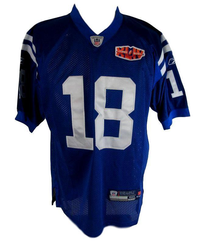info for d5729 5ea5c Peyton Manning Colts Autographed Signed Super Bowl Xliv Nwt ...