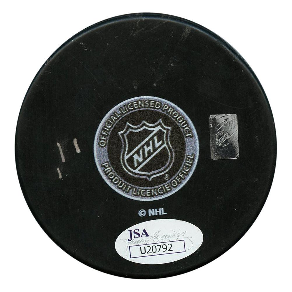 Pierre Turgeon Autographed Signed New York Islanders Logo Puck