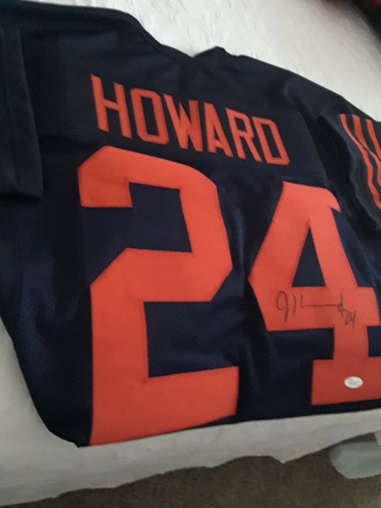 size 40 aee8d 6af1d Rare Jordan Howard #24 Autographed Signed Bears Throwback ...