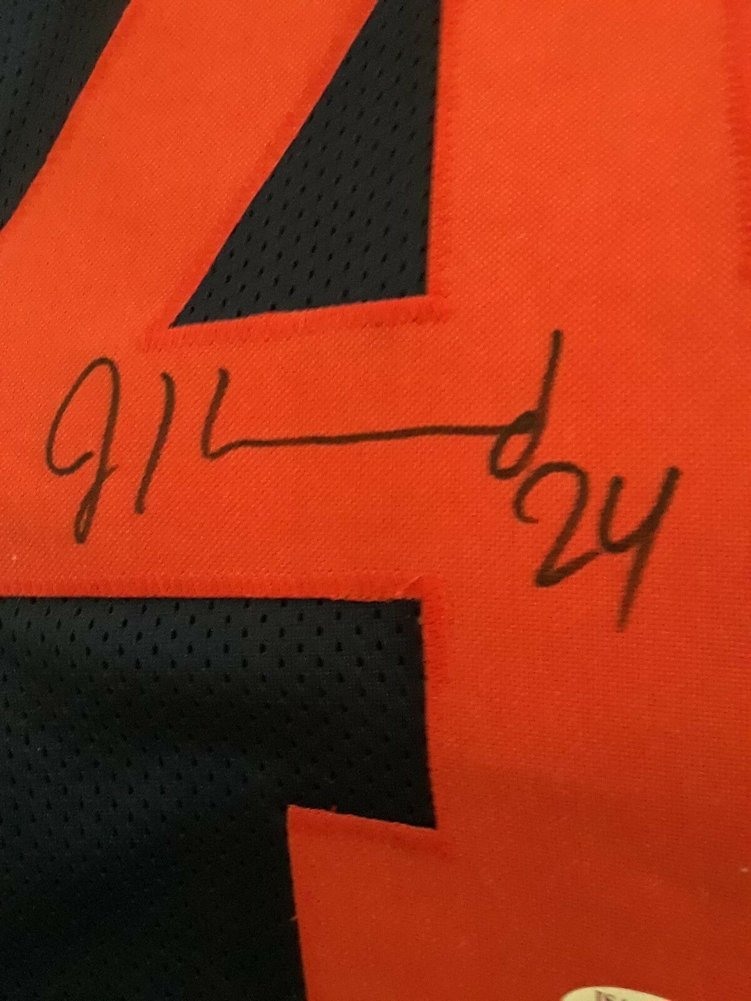 size 40 aee8d 6af1d Rare Jordan Howard #24 Autographed Signed Bears Throwback ...