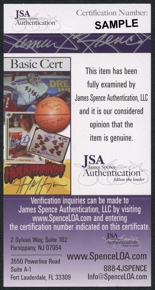 Reggie Jackson Autographed Signed Mr. October T-Shirt Inscribed Mr. October (JSA COA) Image a