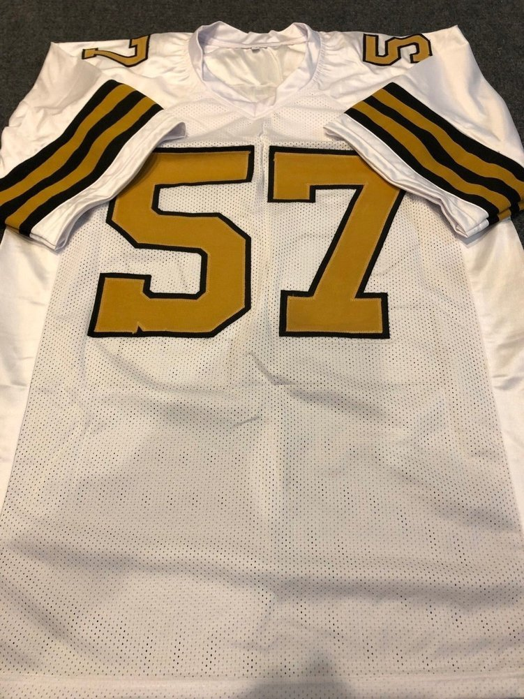 Rickey Jackson Autographed Signed Inscribe New Orleans Saints Jersey JSA.  Loading Images...  294.99 Price 3bfd4aaed