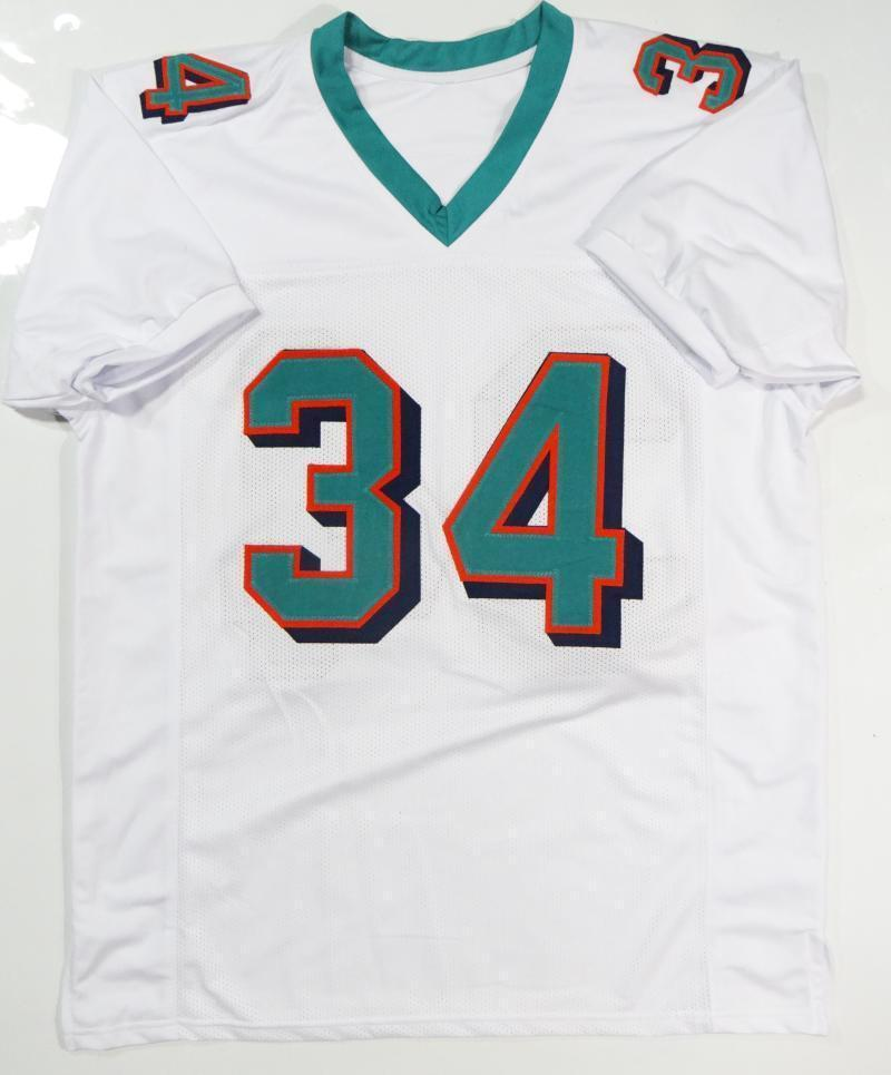 Ricky Williams Autographed Signed White Pro Style Jersey (Size XL ... 11dfdd10e