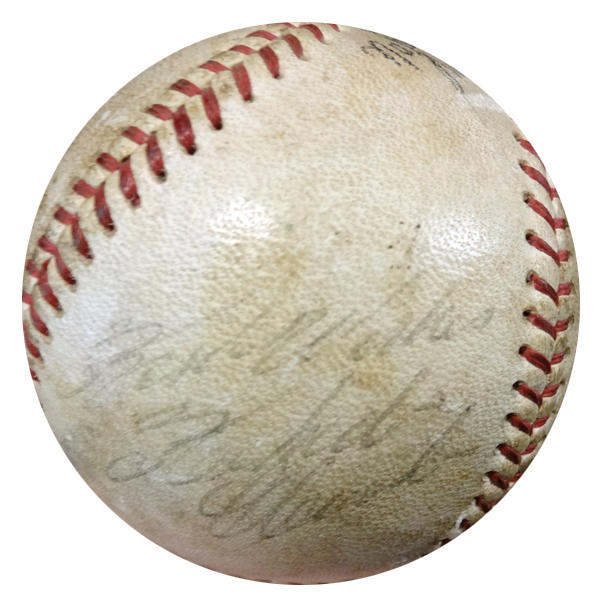 Roberto Clemente Autographed Signed Game Used NL Baseball Pittsburgh Pirates - PSA/DNA Certified Image a
