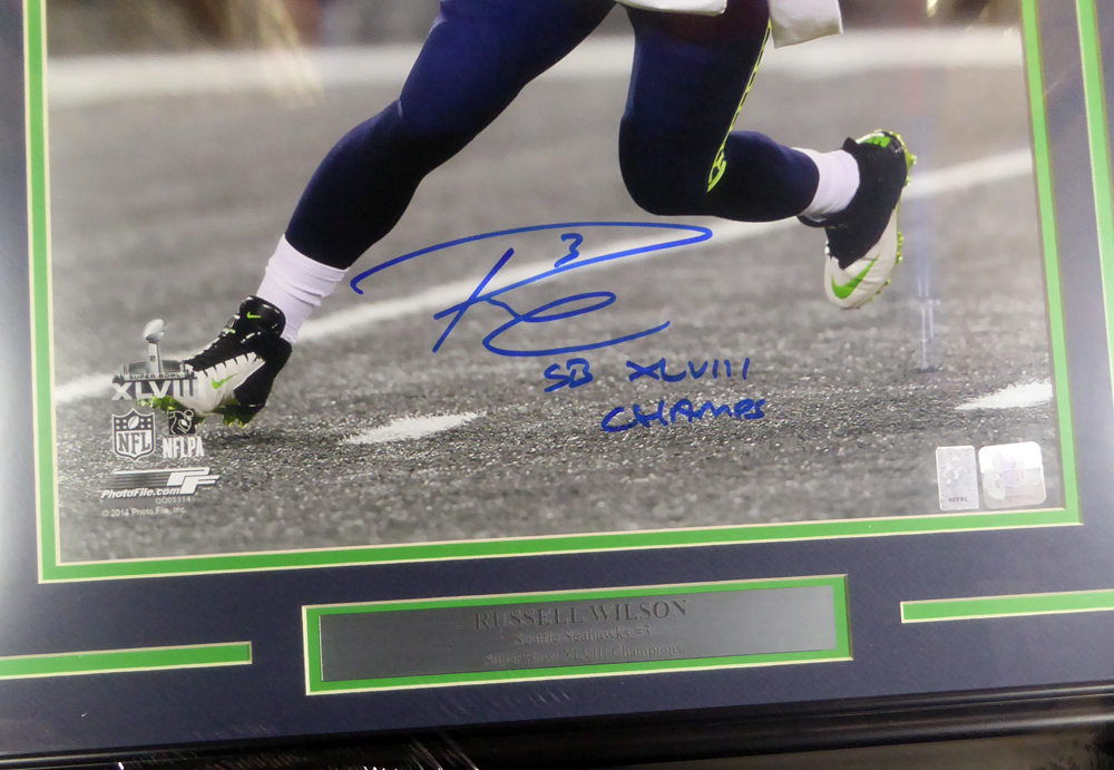 ad2ac1c6de3 ... Seattle Seahawks Super Bowl SB XLVIII Champs RW Holo Stock  126669 -  Certified Authentic. Loading Images...  692.99 Price