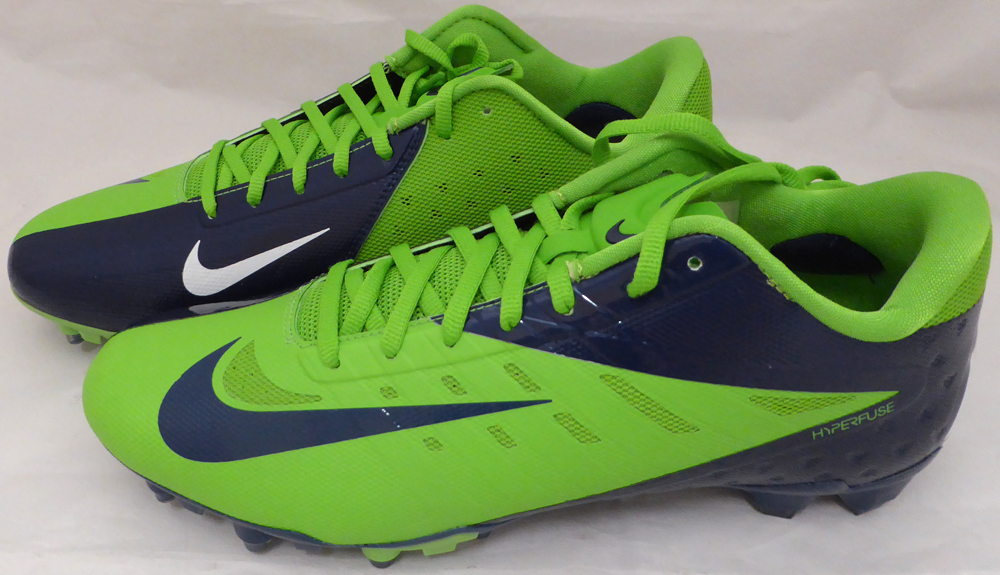 285c76a7845 ... Russell Wilson Autographed Signed Nike Cleats Shoes Seattle Seahawks RW  Holo Stock  130470 - Certified