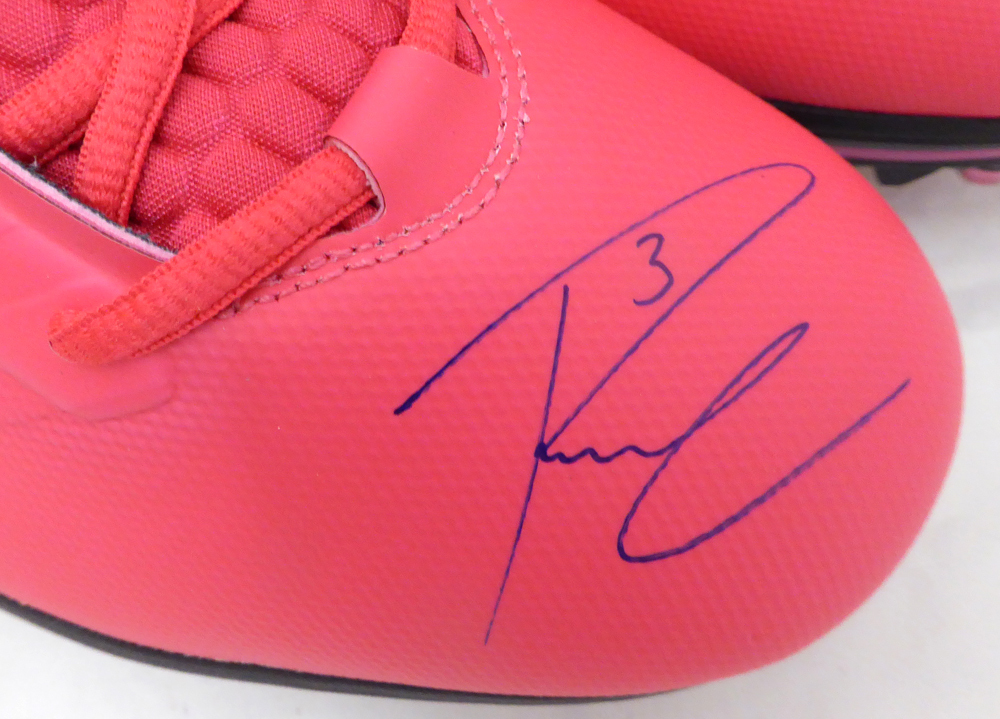 Russell Wilson Autographed Signed Nike Cleats Shoes Seattle Seahawks RW Holo Stock #130472 - Certified Authentic Image a