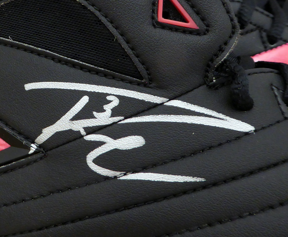 248634589b ... Russell Wilson Autographed Signed Pink Nike Cleats Shoes Seattle  Seahawks RW Holo Stock #130719 ...