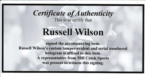 Russell Wilson Autographed Signed Pink Nike Cleats Shoes Seattle Seahawks RW Holo Stock #130720 - Certified Authentic Image a