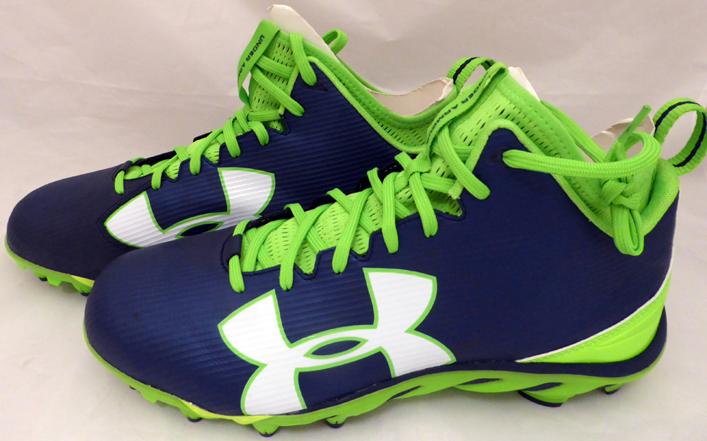 35514f61 Russell Wilson Autographed Signed Under Armour Cleats Shoes Seattle  Seahawks RW Holo #42139 - Certified Authentic. Loading Images... $712.99  Price