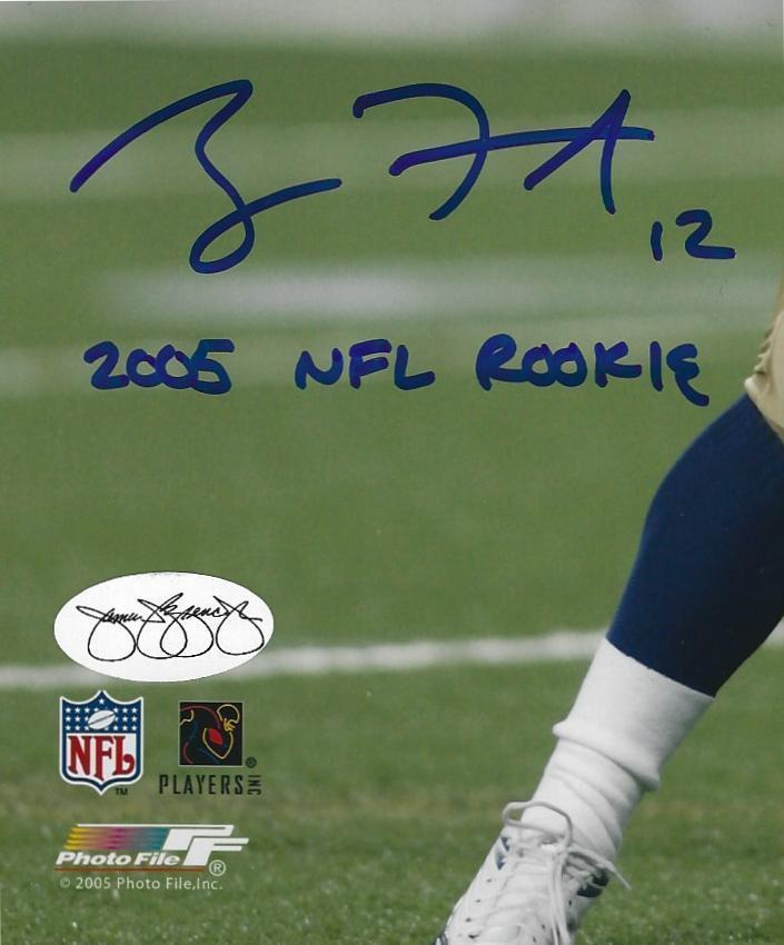 Ryan Fitzpatrick 2005 NFL Rookie Autographed Signed 8x10 Autographed ... f9096b6fd