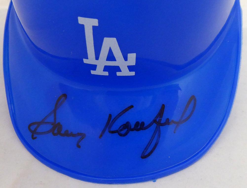 Sandy Koufax Autographed Signed Micro Mini Helmet Los Angeles Dodgers PSA/DNA #F68844 Image a