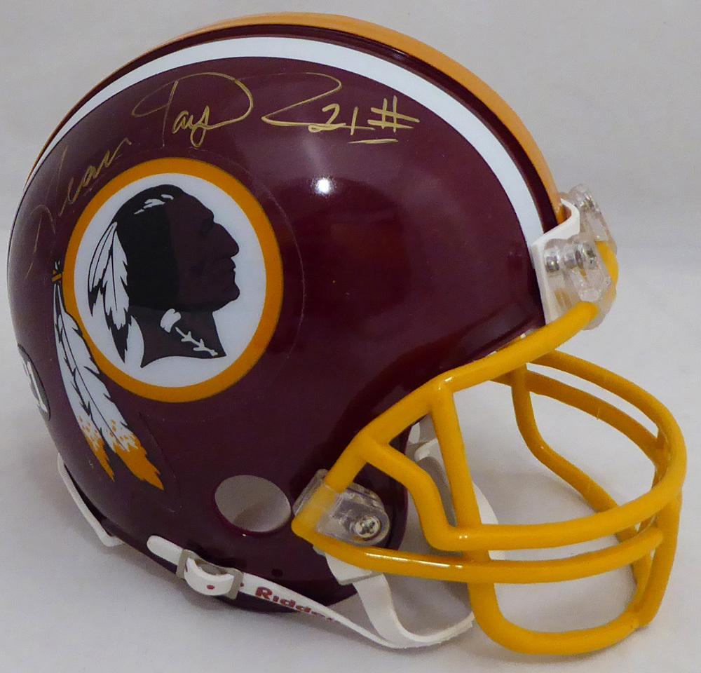 low priced 166e6 b9ea8 Sean Taylor Autographed Signed Washington Redskins Mini ...