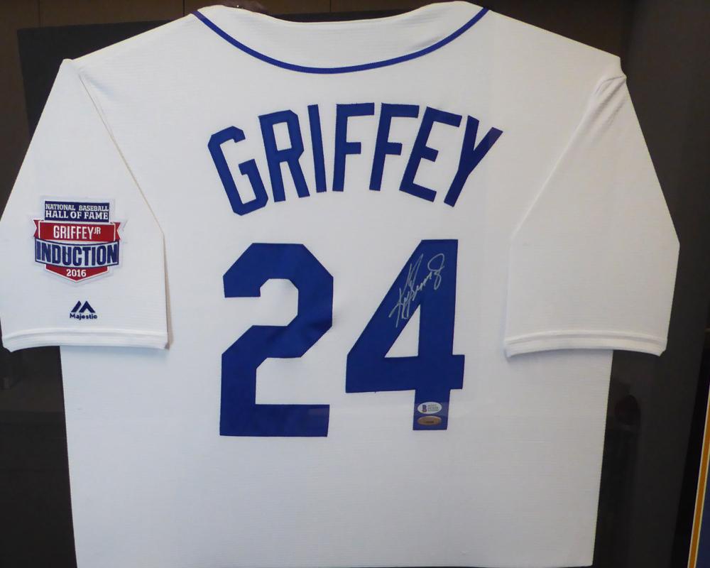 quality design a3da6 7bffe Seattle Mariners Ken Griffey Jr. Autographed Signed Framed ...