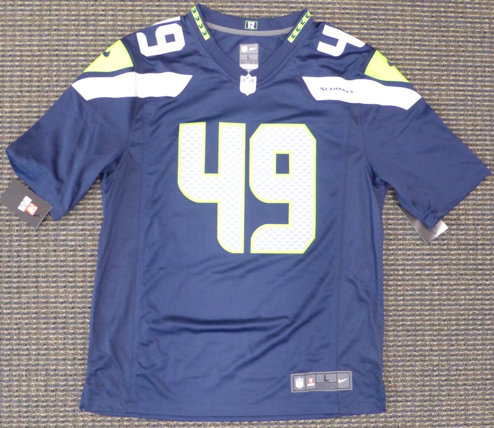 reputable site 2d0ba fe9d8 Seattle Seahawks Shaquem Griffin Autographed Signed Auto ...