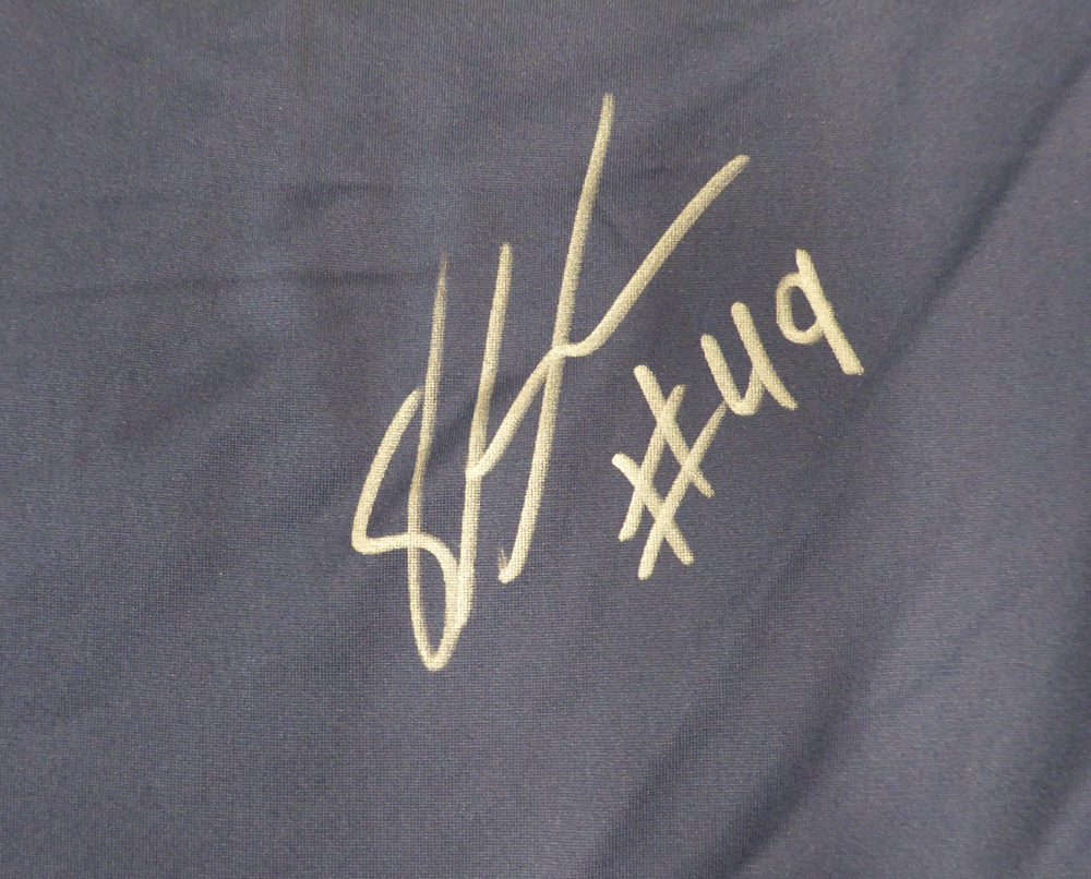 7bec3fd61 Seattle Seahawks Shaquem Griffin Autographed Signed Auto Blue Nike Jersey  Size XXL - Certified Authentic. Loading Images... $466.99 Price
