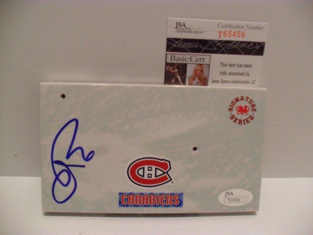 Shea Weber Autographed Signed Autographed Montreal Canadien Imports Dragon Mcfarlane JSA COA Image a