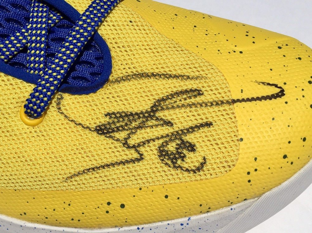 534d0268447c Stephen Curry 0 Autographed Signed Under Armour 3Zer0 Basketball ...